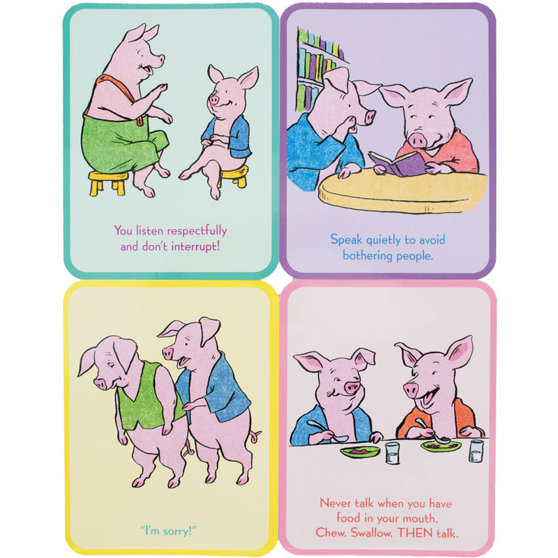 Good Manners Flash Cards Timberdoodle Co