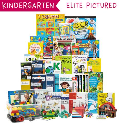 Non-Religious 2018 Kindergarten Curriculum Kit Customizer