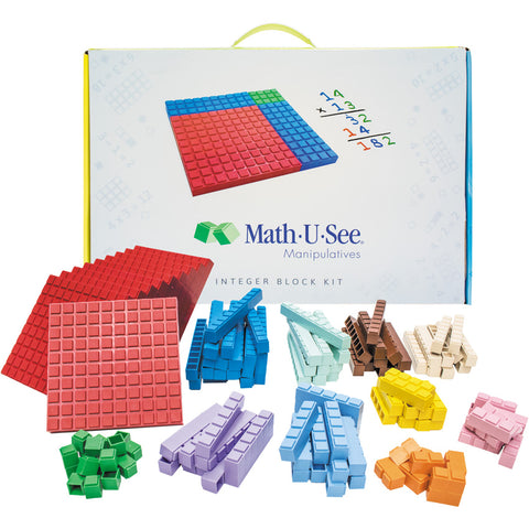 Math-U-See Manipulative Integer Block Set