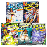 Max Axiom Chemistry and Science Basics, 5-book Set