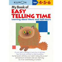 Kumon My Book of Easy Telling Time