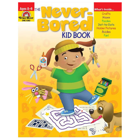 The Never-Bored Kid Book Ages 8-9