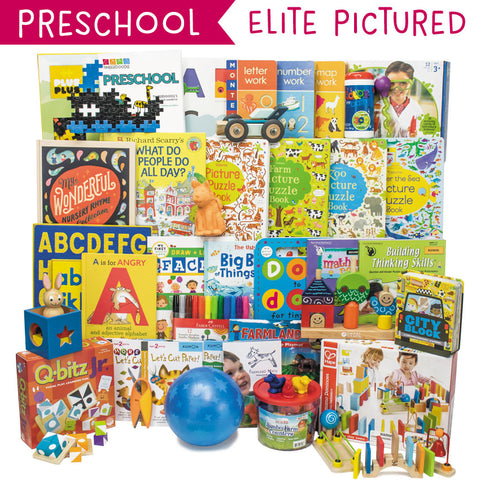 Preschool Secular Curriculum Kit Customizer (Overflow)