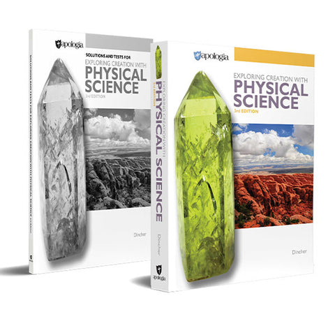 Exploring Creation with Physical Science 2-book Set, 3rd Edition