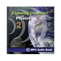 Exploring Creation with Physics - MP3 Audio Book CD