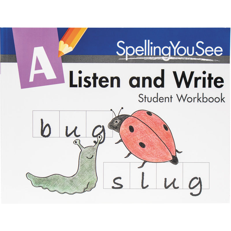 Spelling You See Level A Student Book