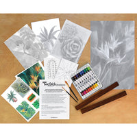 TwoStick Shadows Paint Kit: Succulents