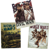 True Stories of War Graphic Novels 3-Book Set