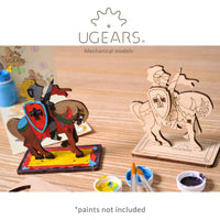 UGears 4Kids Knight on Horseback