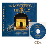 The Mystery of History Vol 4 - Audio Book CD Set