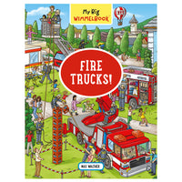 My Big Wimmelbook - Fire Trucks!
