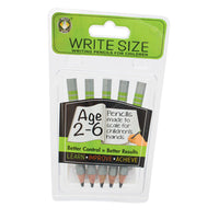 Write Size Pencils