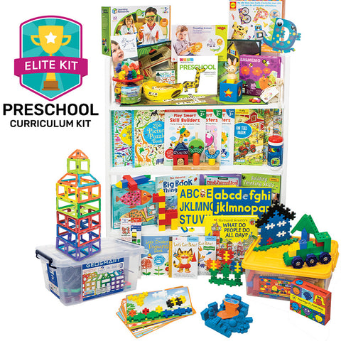 Nonreligious 2020 Preschool Curriculum Kit
