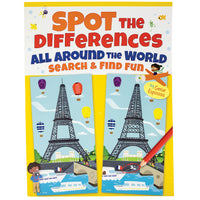Spot the Differences All Around the World