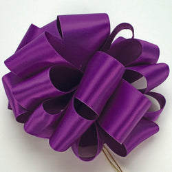 Purple Double Face Satin Ribbon