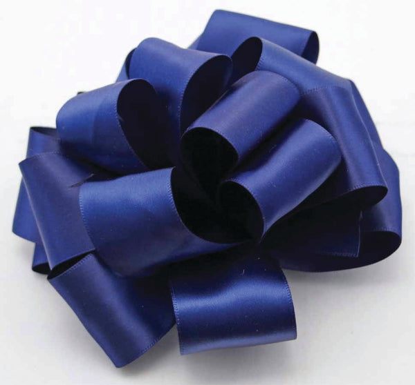 Light Navy Double Face Satin Ribbon