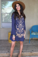 Oriana Embroidered Dress