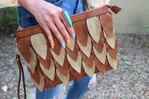 Willow Leaf Layerd Bag
