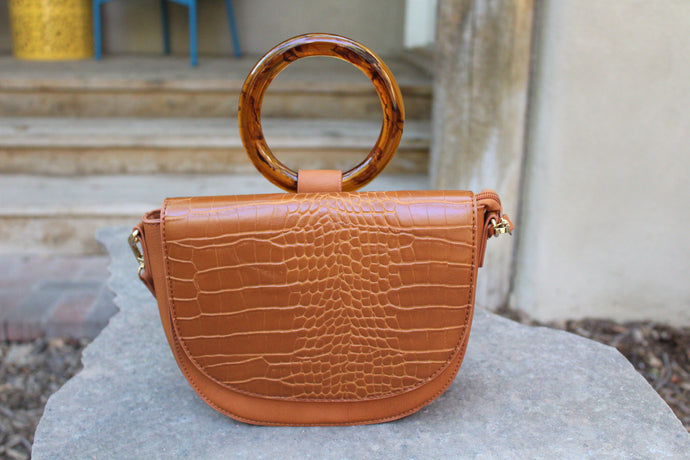Rachel Turtleshell Ring Bag