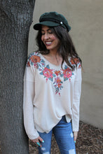 Mariah Floral Embroidered Top