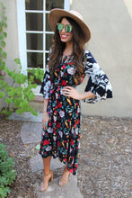 Gwendolyn Mixed Print Maxi Dress