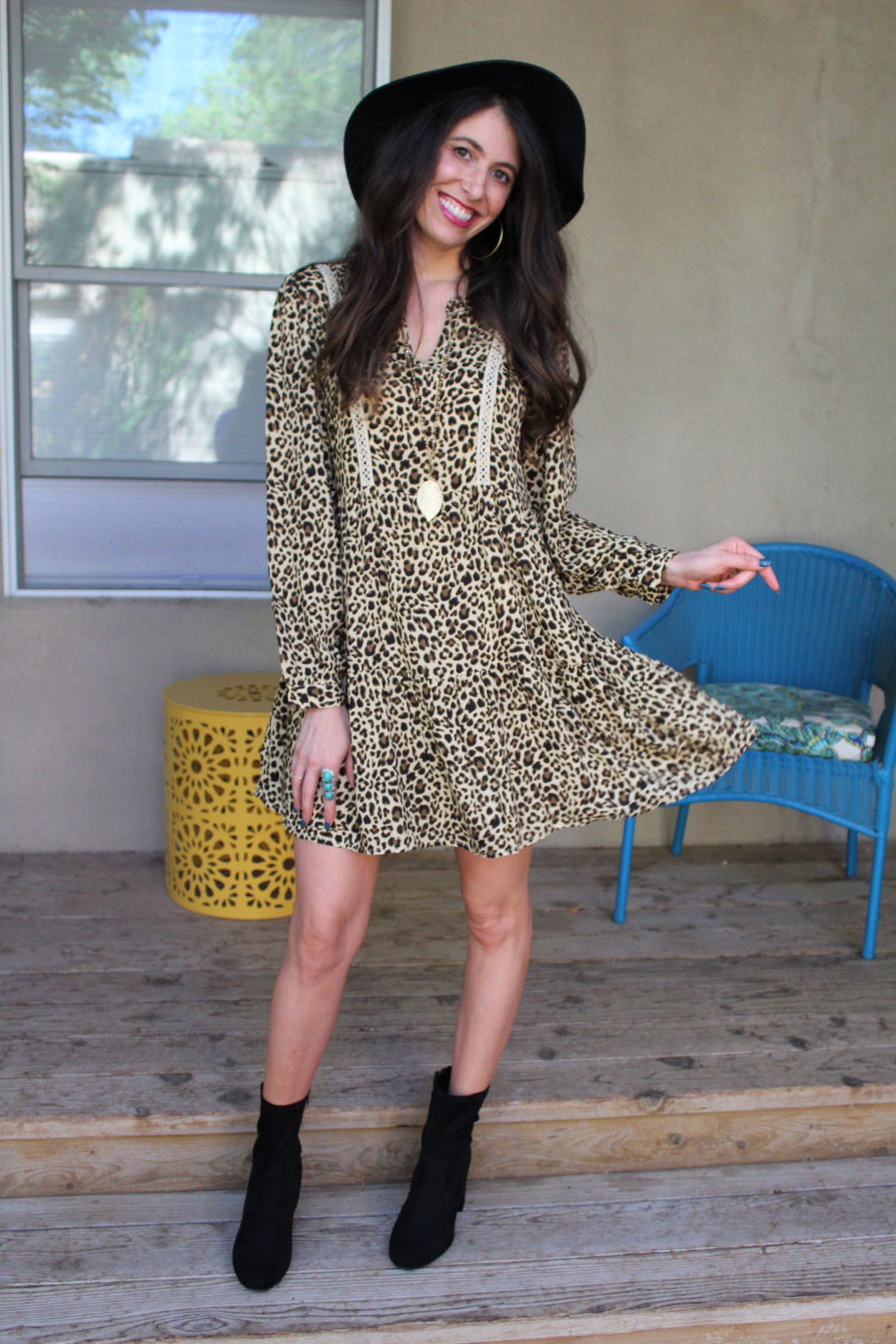 Kourtney Cheetah Print Dress