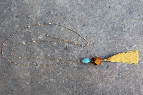 Taos Tassel Necklace