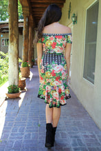Mirabella Mixed Print Dress