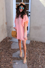 Mira Flutter Sleeve Dress