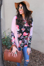 Nina Mixed Floral Print Top
