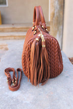 Coco Chevron Quilted Tassel Bag