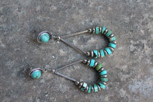 Angel Fire Turquoise Earrings