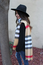 Addie Plaid Oblong Scarf