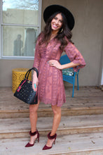 Lille Crochet Lace Dress