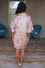 Goldie Velvet Burnout Dress