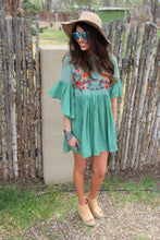 Ava Floral Embroidered Dress