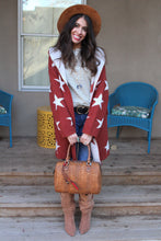 Seeing Stars Hooded Sweater Jacket
