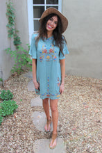 Beatrice Floral Embroidered Dress