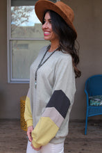 Brooklyn Color Block Sweater