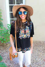 Evie Floral Embroidered Top