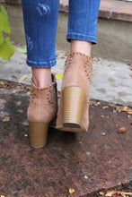 Harper Stitched Cutout Booties