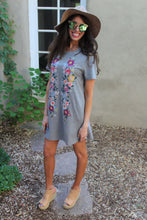 Elisha Floral Embroidered Dress