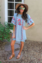 Emiliana Floral Embroidered Dress