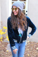 Tiger Lily Embroidered Bomber Jacket