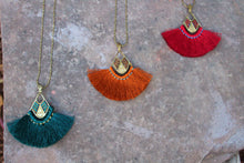Aiyana Seed Bead Tassel Necklace
