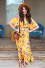 Catalina Floral Print Maxi Dress