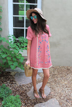 Layla Floral Embroiderd Dress