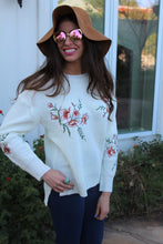 Claudia Floral Embroidered Sweater