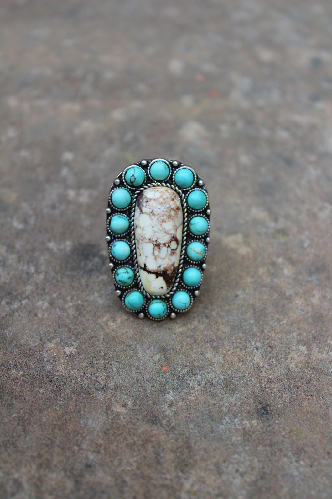 Rhiannon Turquoise Ring