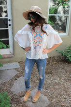 Riley Floral Embroidered Top
